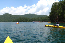 canoe-paddling